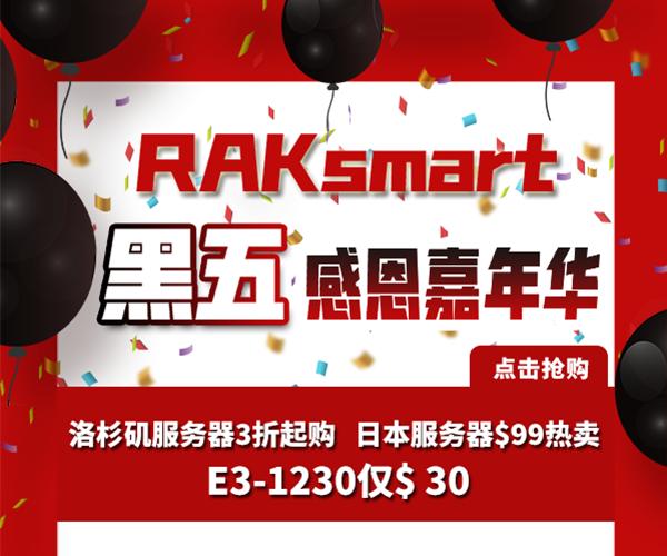 RAKsmart黑五狂欢促销